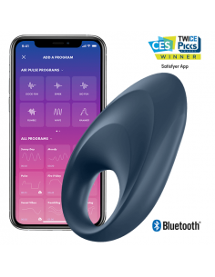 Vibracijski obroček Satisfyer Mighty One APP