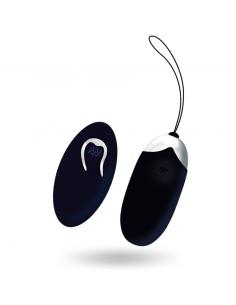 Vibracijski jajček Intense Flippy II črn