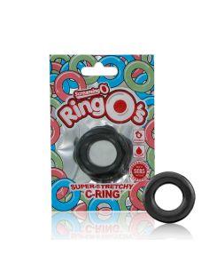 Erekcijski obroček ScreamingO RingO črn