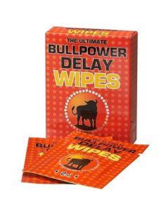 Robčki za zakasnitev orgazma Bull Power Delay