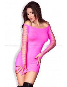 Mini oblekica Chilirose CR3608 roza