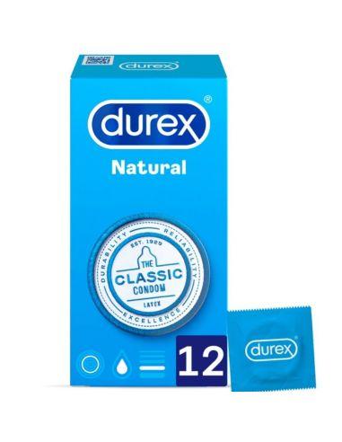 Kondomi Durex Classic Natural 12/1