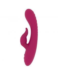 Rabbit vibrator Rithual Anusara, rdeč