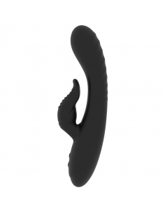 Rabbit vibrator Rithual Anusara, črn