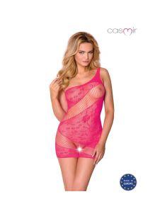 Mrežasta oblekica Casmir CA001, roza