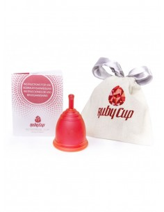 Menstrualna skodelica Ruby Cup, rdeča
