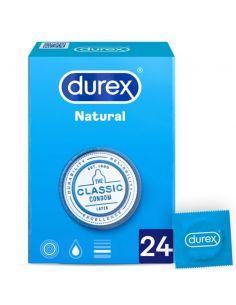 Kondomi Durex Classic Natural 24/1