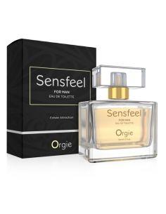 Moški parfum s feromoni Orgie Sensfeel, 50ml