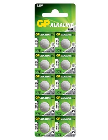 Baterija GP LR44 (AG13) alkalna (1 kos)