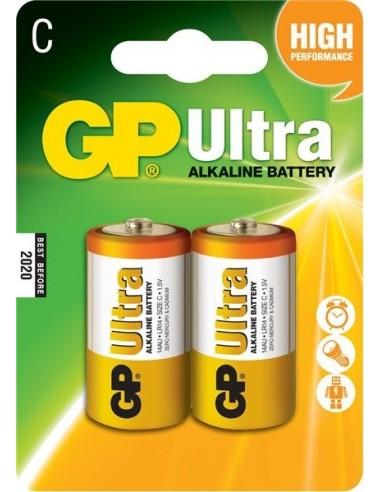 Baterije GP LR14 (C) Ultra alkalne (2 kosa)