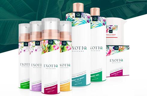 Linija masažnih izdelkov Exotiq