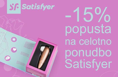Satisfyer enkratna ponudba -15%